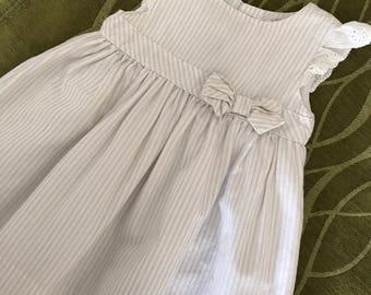 Vintage Jillian's Closet Baby Dress, 9 mos.