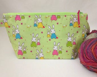 Sock Wedge Bag - Bunny Trail