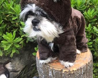 Goldilocks and the Three Bears/Teddy Bear Dog Costume size small, medium, large