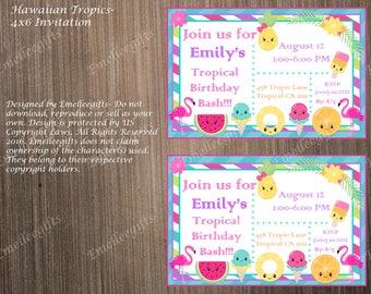Hawaiian Tropics Invitation