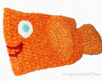 "small hot water bottle ""GOLDIE THE FISH"""