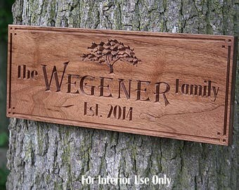 Custom Cabin Sign, Sign For Lake House, Family Name Sign, Welcome To The Lake Sign, Cabin Sign, Last Name Sign, Benchmark Signs, Walnut TG