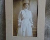 Nurse Vintage Postcard 1912