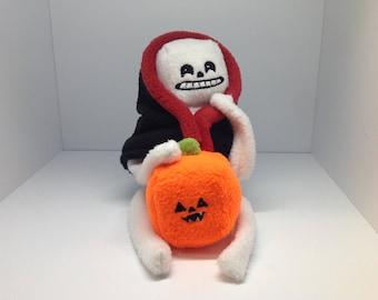A Little Grim & Pumpkin - Plush