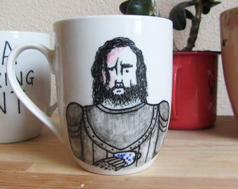 The Hound Handpainted Mug - Sandor Clegane