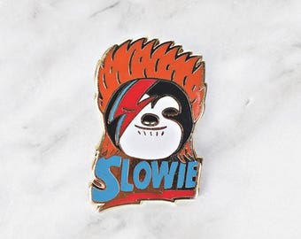 Slowie - Sloth Enamel Pin