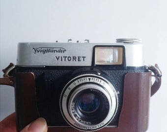 ON SALE Vintage Voigtländer Vitoret Camera with original case