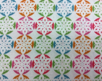Fabric - Fabric Freedom - Christmas Characters Snowflakes