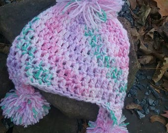 Crochet Toddler Winter Hat *free shipping*