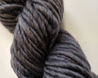 Gray on Super Bulky SW Merino