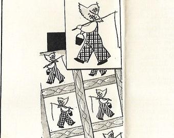 "VTG Grit Pattern 5231 ""Little Laddie"" Quilt, 1953 Mail Order pattern"
