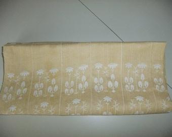 Vintage Tampella linen damask tablecloth - Örtagården - Yrttitarha - Herb Garden - Dora Jung design
