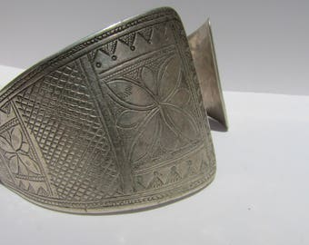 Antique Yemeni Silver Bracelet