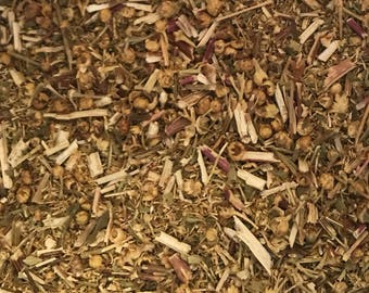 Feverfew Herb, Dried Herb, Tanacetum parthenium