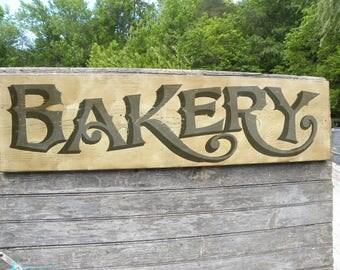 Bakery Sign,vintage look