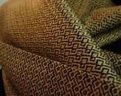 Handwoven Tencel scarf go...