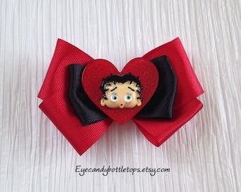 Betty Boop Hair Bow