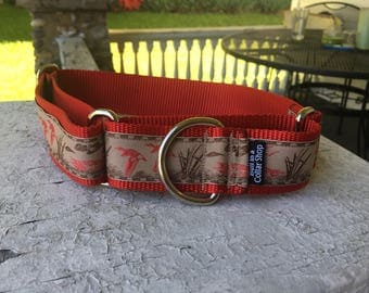 "Duck Pond - 1.5"" Martingale Collar"