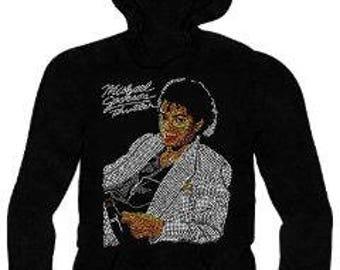 Michael Jackson Ladies Hooded Sweatshirt. African American T-shirts
