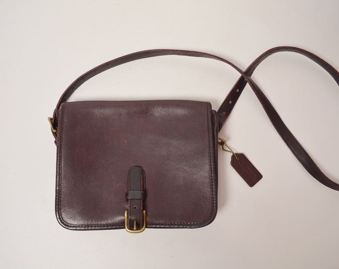 1970's NYC RARE Coach Leather Bag Purse Crossbody