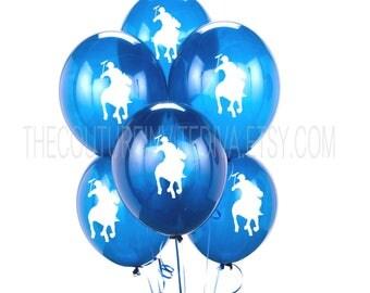 Polo Prince Balloons | Polo Balloons | Polo Player Balloons | Horseman  Balloons | Blue |