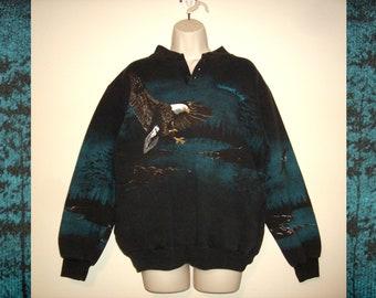 Vintage 1990s / 1980s Lodge Sweater