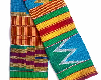 Traditional African Kente Scarf