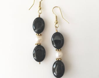 SALE! Onyx Dream Earrings