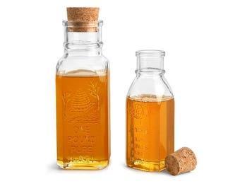 8 oz Honey Jar Bottles for Wedding Favors