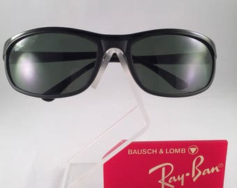 Vintage Ray Ban Bausch and Lomb Matte Black Predator Sports PS2 New NOS