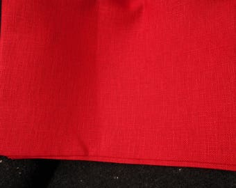 Christmas Red 32 ct Belfast Linen (in various sizes)