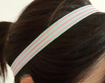 Everyday/Girl/Women fold over elastic headband