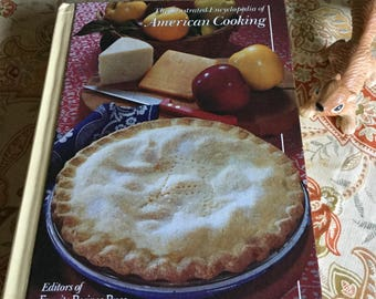 Encyclopedia of American Cooking 1986 Cook Book/Food/Kitchen
