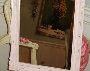 darling pink sHaBbY chic mirror