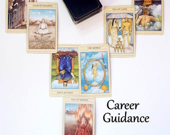 Career Tarot Card Reading, Tarot Reading Same Day Reading, Psychic Reading by Clairvoyant Life Coach, Advice Cards, Oracle Card Reading