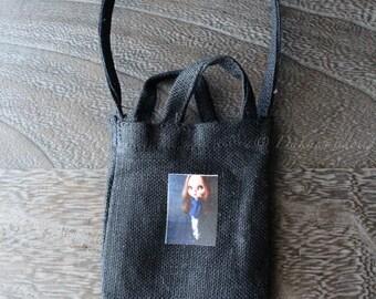 Blythe Doll Outfit /  1/6 doll size /  Customblythe print bag/ B-2