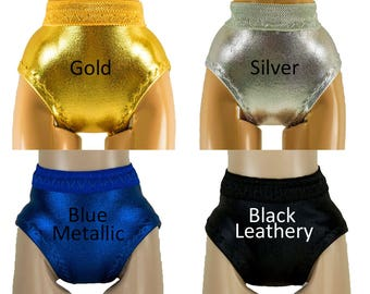 Panties for Monster High dolls - all sizes - Metallics - Doll Clothes - Underwear