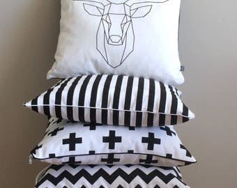 set of 4 pillow covers 4 pillowcases style bu0026w