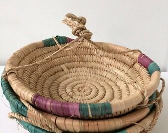 Boho 3 tier hanging baskets