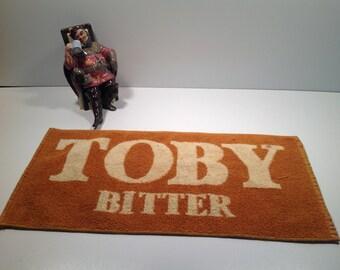 Vintage Toby Bitter Bar Towel