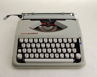 Cursive Typewriter, Hermes Rocket w/ Script Font