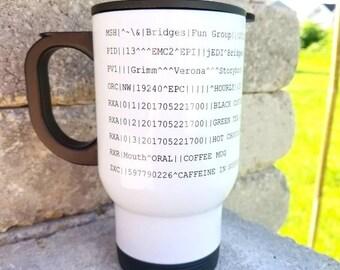 EDI Stainless Steel Travel Mug