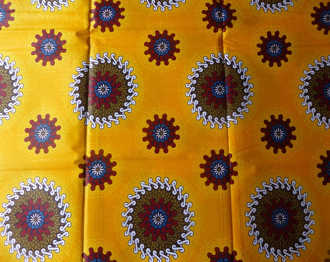 African Fabrics Java Print Cotton Fabrics For Dress &Craft Making Sewing Fabric/Kitenge/Pagnes/Tissues Africain Sold By Yards