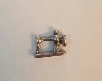 Vintage Antique Sewing Machine Floating Charm- Origami Owl- Living Locket