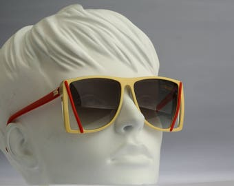 Silhouette M 3058 / Vintage sunglasses / NOS / 80S Unique cheerfully designer suglasses