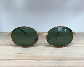 More colors oval vintage sunglasses