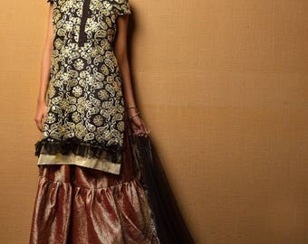 Sanober Azfar formals, salwar kameez, original collection, chiffon, net, pakistani designer