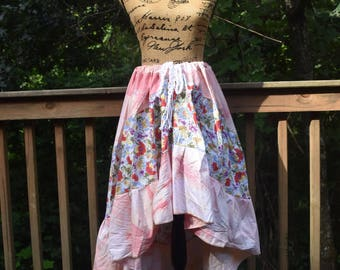 Gypsy Skirt, Bohemian Skirt, Hippie Skirt, Tribal Skirt, Ethnic Skirt, Plus Size Skirt, Belly Dance Skirt, Patchwork Skirt, Festival Skirt