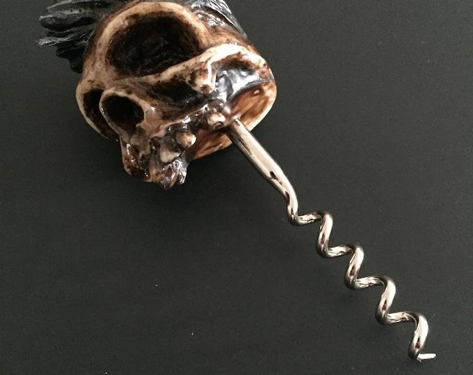 Greaser Skull Corkscrew