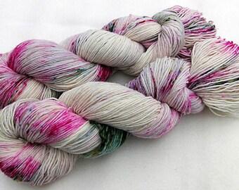 Handdyed SockYarn, 75 Wool, 25 Nylon 100g 3.5 oz. Nr. 138